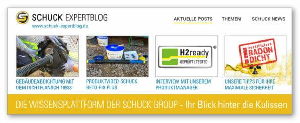 Expertblog Schuck Blog Wissensplattform Aktuelle Posts